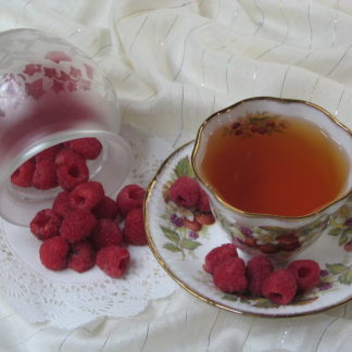 Arctic raspberry flavored black tea