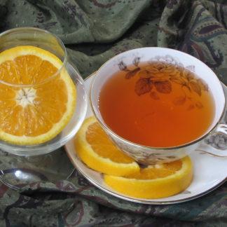 Grand Marnier flavored black tea
