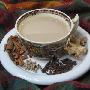 Indian Masala Spiced Chai flavored black tea