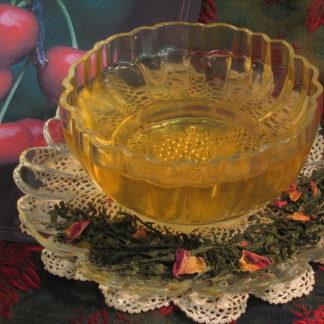 Japanese Sencha Cherry Rose Festival Green Tea