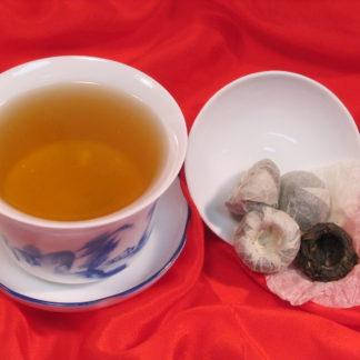 Mini Tuo Cha Pods Compressed Green Tea