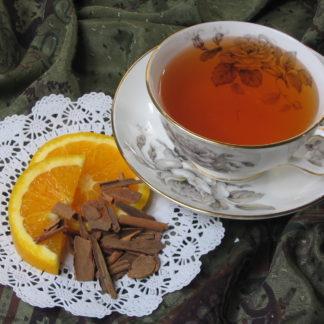 Orange Spice flavored black tea