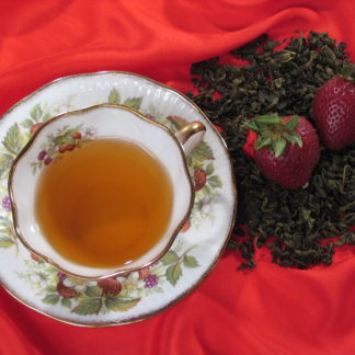 strawberry green tea 2